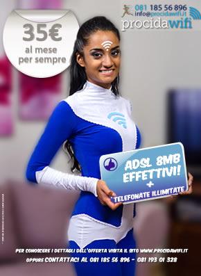 ProcidaWiFi ADSL Ultra Veloce
